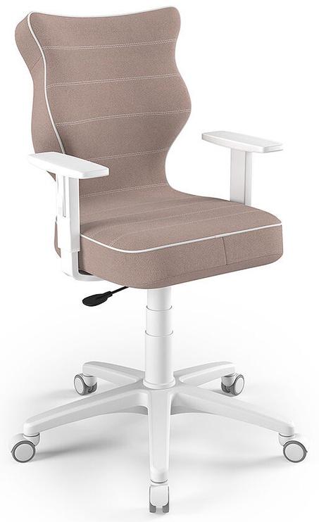 Детский стул Entelo Duo Size 6 JS08, коричневый/белый/кремовый, 400 мм x 1045 мм