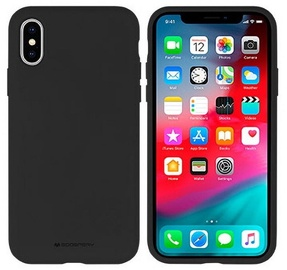 Mercury Soft Touch Matte Back Case For Apple iPhone XS Max Black