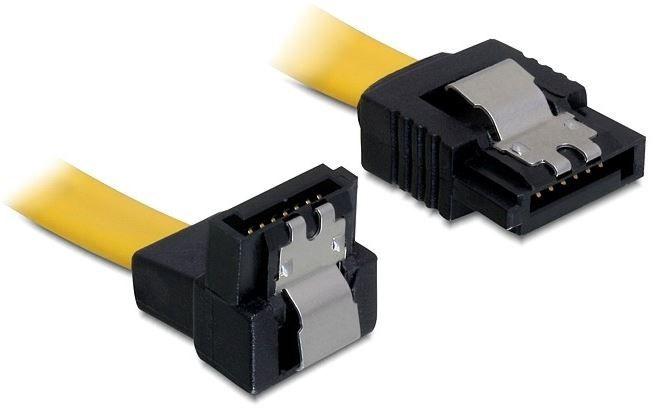 Delock Cable SATA/SATA Yellow 0.30m