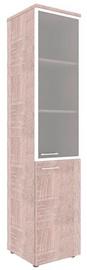 Skyland Xten Office Cabinet XHC 42.7 Right Sonoma Oak