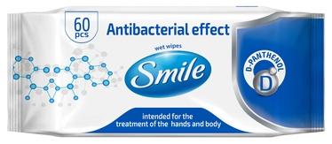 Niisked salvrätikud antibakteriaalsed Smile 60tk