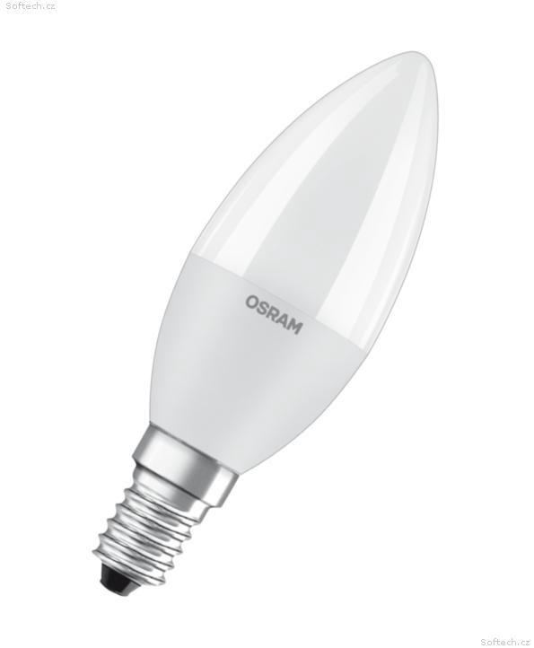 Lampa led value Osram B60, 7W, E14, 2700K, 806lm