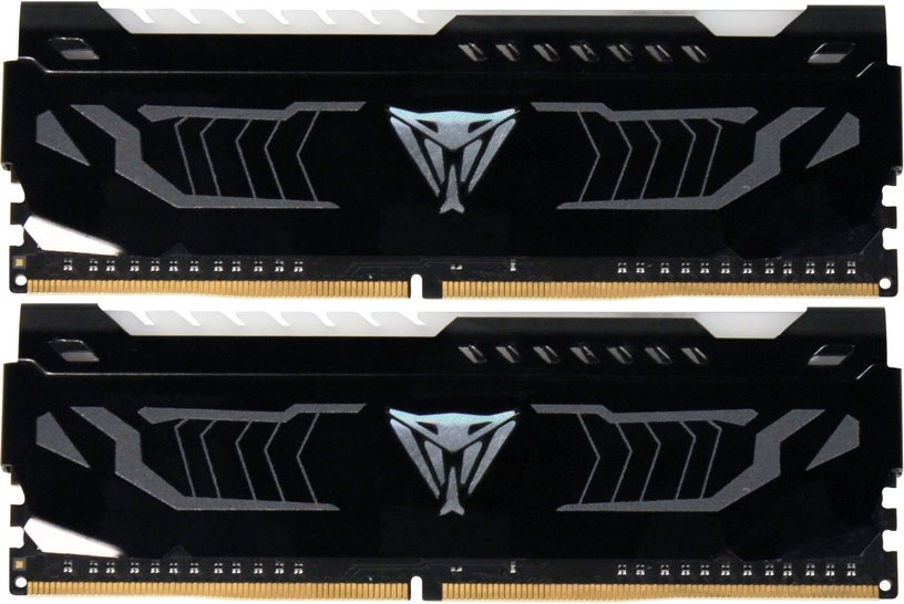 Patriot Viper LED WHITE Series 16GB 2400MHz CL14 DDR4 KIT OF 2 PVLW416G240C4K
