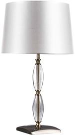 Light Prestige Lena Table Lamp 60W E27 White/Transparent