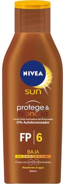 Nivea Sun Protect & Bronze SPF6 200ml