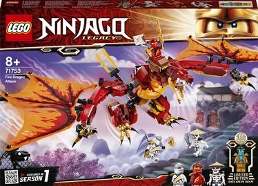 Конструктор LEGO Ninjago Fire Dragon Attack 71753, 563 шт.