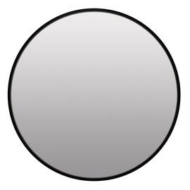 Peegel Homede Tela Black, riputatav, 60x60 cm