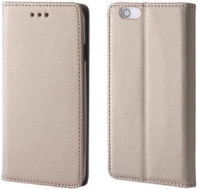 Forever Smart Magnetic Book Case For Huawei P8 Lite Gold