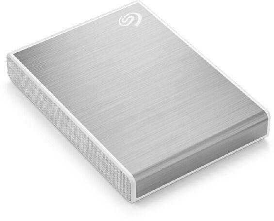 Жесткий диск Seagate One Touch USB-C, HDD, 1 TB, серебристый