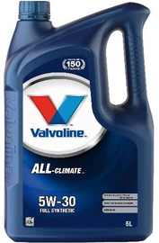 Valvoline All Climate 5w30 Engine Oil 5L