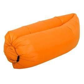 Täispuhutav madrats RoGer Air-Filled Pouf, oranž, 2300x700 mm