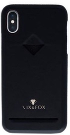 Vix&Fox Card Slot Back Shell For Apple iPhone X/XS Black