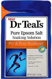 Vannas sāls Dr Teal's Pure Epsom Pre & Post Workout, 1360 g