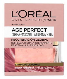 L´Oreal Paris Age Perfect Illuminating Mask With Peony Extract For Mature Skin 50ml