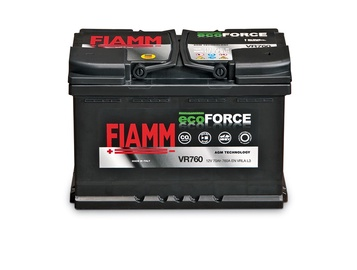 Aku Fiamm Ecoforce, 12 V, 70 Ah, 760 A