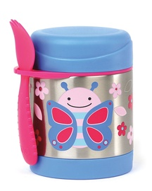 SkipHop Zoo Insulated Little Kid Food Jar Butterfly 252381