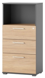Szynaka Meble Omega 07 Drawer 60x122x38cm Oak