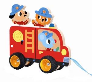 Djeco Pull Along Toys Terreno Truck