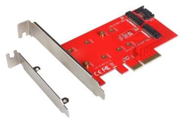 iTec PCI-E 2x M.2 Card PCI-E/SATA