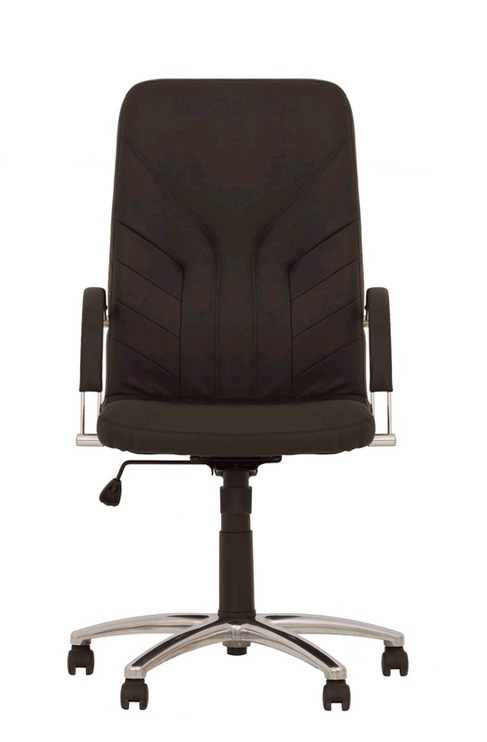 Biroja krēsls Nowy Styl Manager Steel Comfort Eco-30, brūna