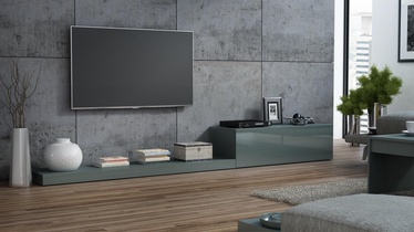 Cama Meble Life 300 TV Stand Gray Gloss