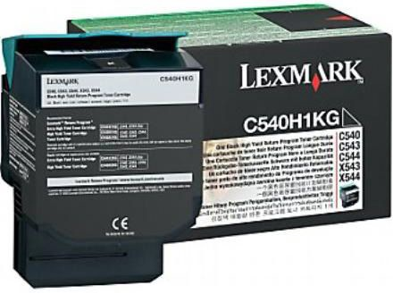Lazerinio spausdintuvo kasetė Lexmark C54x/X54x Black High Yield Toner cartridge