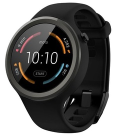 Motorola Moto 360 2Nd Gen Sport Watch Black/Noir
