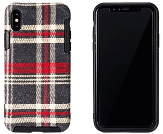 Remax Fabric Series Back Case For Apple iPhone X Red