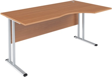 Skyland Imago SA-1M Right Ergonomic Table 160x90x75.5cm Ash Shimo