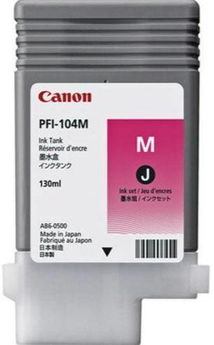 Rašalinio spausdintuvo kasetė Canon PFI-107 Ink Cartridge Magenta