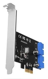 Axagon PCEU-034VL PCIe Controller 4x Internal SuperSpeed USB
