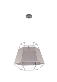 TK Lighting Cristal 1801 60W E27 Grey