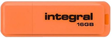 USB atmintinė Integral Neon Orange, USB 2.0, 32 GB