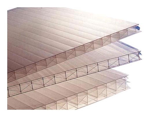 Polikarbonato plokštė, 1050 x 2000 x 10 mm