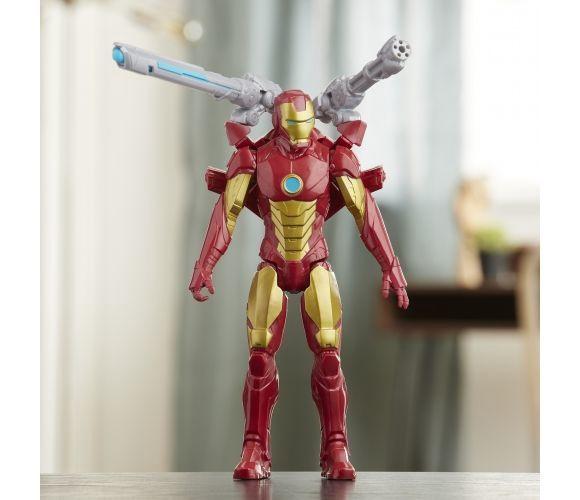 Фигурка-игрушка Hasbro Marvel Avengers Titan Hero Series Iron Man E7380
