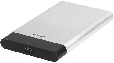 "Tracer 726 AL 2.5"" SATA USB Type-C Enclosure Silver"