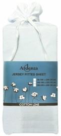 Palags Ardenza Jersey, balta, 140x200 cm, ar gumiju