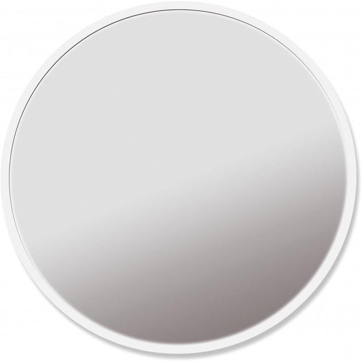Meigipeegel Platinet PMLY19 White, valgustusega, teisaldatav, 19x30 cm