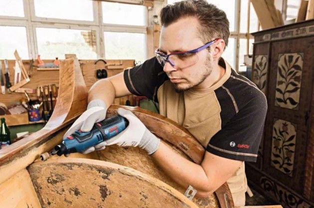 Bosch GRO 12V-35 Cordless Rotary Tool + L-Boxx 102