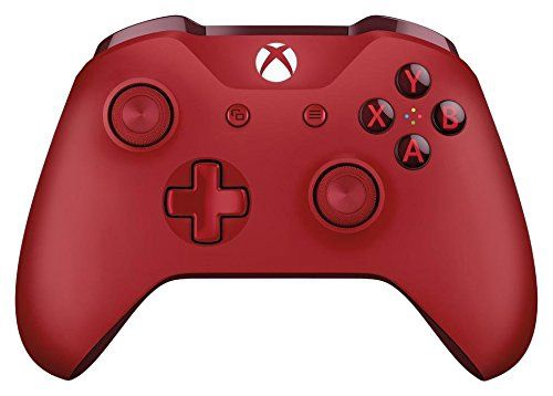 Microsoft Xbox One S Wireless Controller Red For Windows 10