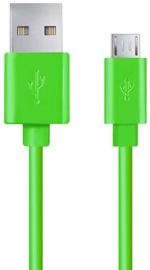 Esperanza Cable USB to USB-micro Green 2m
