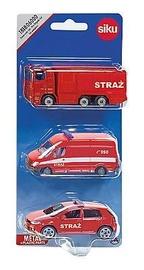 Siku Vehicles Set Firebrigade 1818