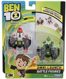 Žaislinė figūrėlė Playmates Toys Ben 10 Omni-Launch Battle Refill Four Arms & Wildvine 76637