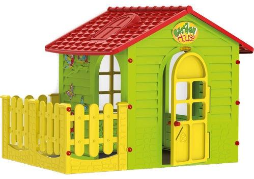 Mochtoys Garden House Green/Red 10839