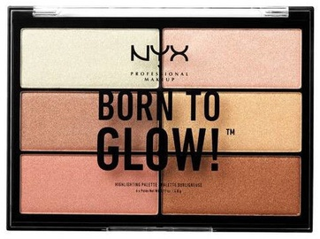 NYX Born To Glow Highlighting Palette 28.8g BTGHP01