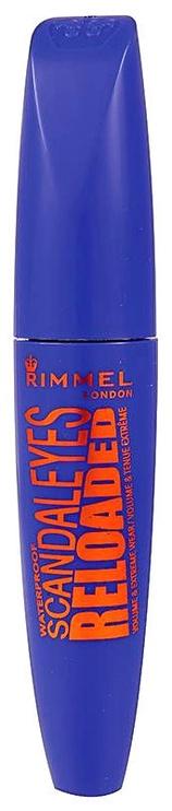 Rimmel London Scandaleyes Reloaded Waterproof Mascara 12ml Black