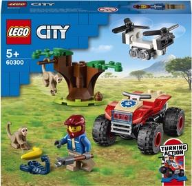 Конструктор LEGO City Wildlife Rescue ATV 60300, 74 шт.