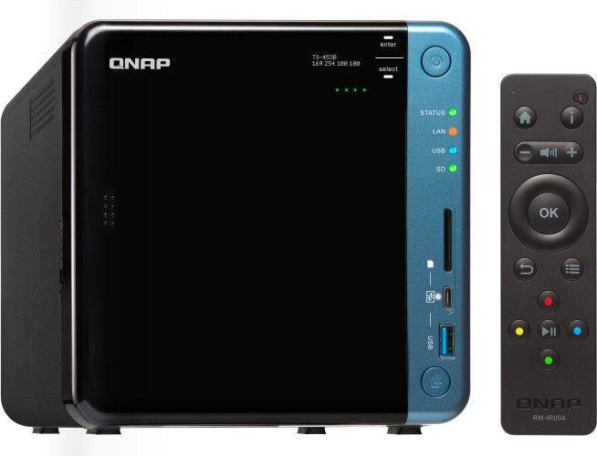 QNAP Systems TS-453B-4G 4-Bay NAS 4TB SSD