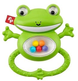 Grabulis Fisher Price Shake & Rattle Frog, zaļa