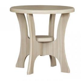 Kafijas galdiņš Bodzio S10, smilškrāsas, 600x600x590 mm